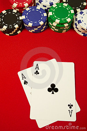Pocket aces on the button
