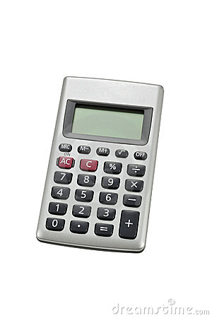 Free Pocket Calculator. Royalty Free Stock Images - 10637719
