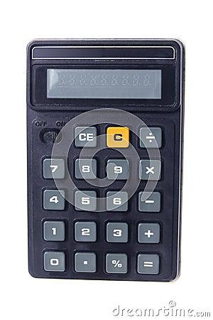 Free Pocket Calculator Royalty Free Stock Image - 21799656