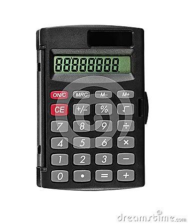 Free Pocket Calculator Royalty Free Stock Photography - 5864827