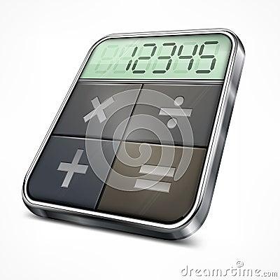 Free Pocket Calculator On White Royalty Free Stock Photos - 37896228