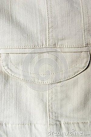 Free Pocket Of Old Denim Waistcoat Stock Photos - 3146153