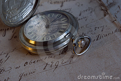Pocket old watch