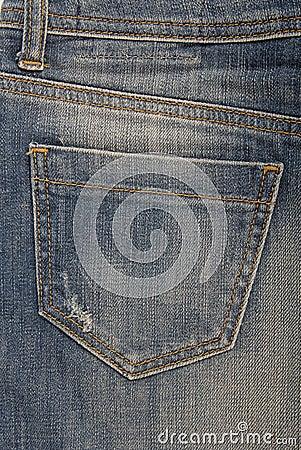 Free Pocket On Denim Skirt Stock Photo - 28701420