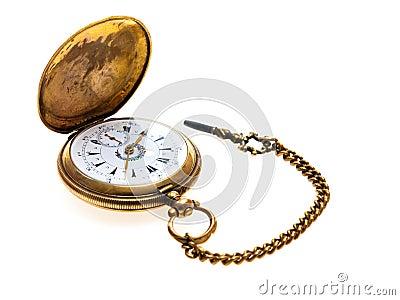 Pocket Watch Antique Golden