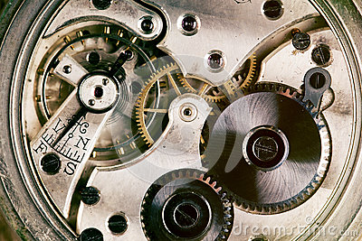 Pocket watch machinery