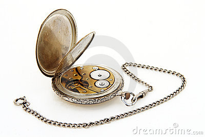 Pocket watch and watch-chain