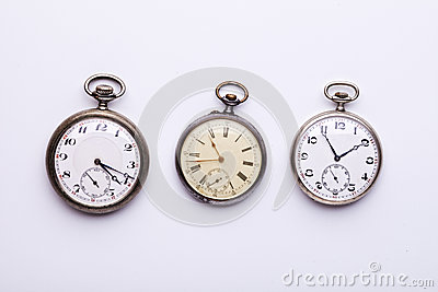 3 pocket watches