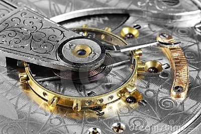 Pocketwatch balance wheel