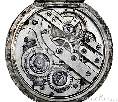 Pocketwatch mechanizm