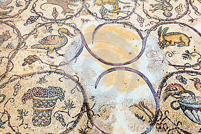 Podłogowa mozaika