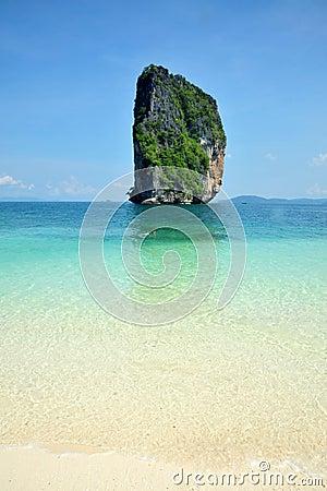 Poda island, south of Thailand