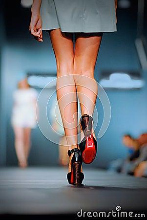 Free Podium On Fashion Show Stock Photo - 22288290