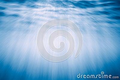 Podwodne promieni świetlnych