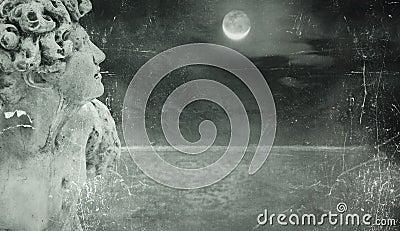 Poetic fantasy background