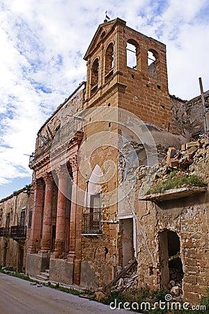 Poggioreale ruins, church