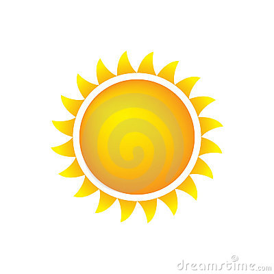 Pogoda ikony słońca