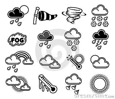 Pogodowe ikony