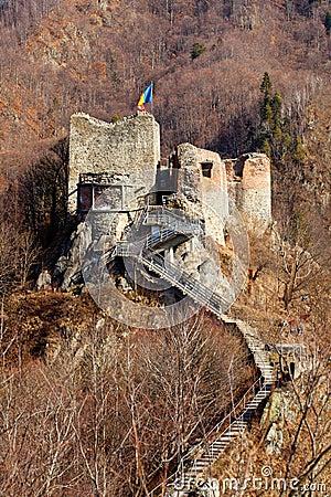 Free Poienari Fortress Of Dracula Stock Image - 18362021