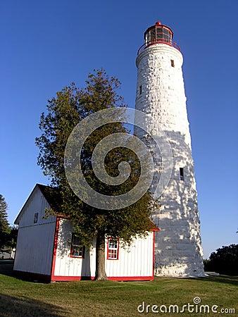 Point Clark Lighting House.