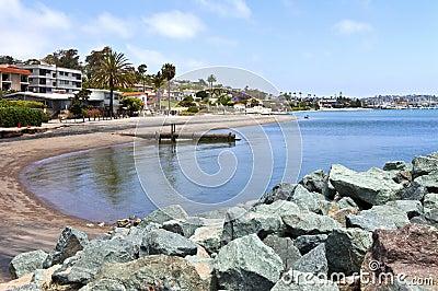 Point Loma San Diego beaches and surf California.