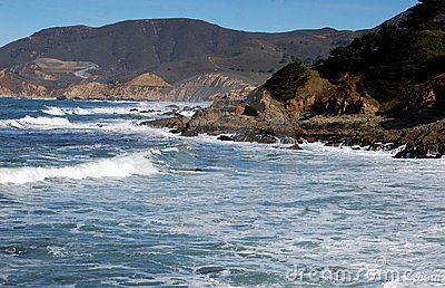 Point Montana, CA:  Pacific Ocean Seascape
