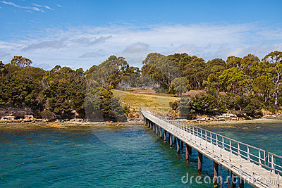 Point Puer at Port Arthur, Tasmania, Australia