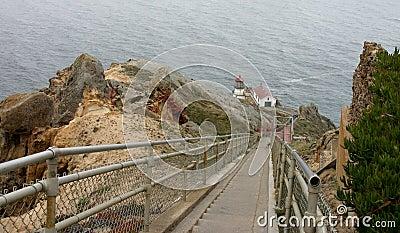 Point Reyes Lighthouse Descent
