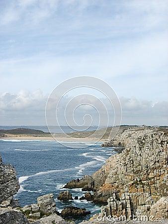 Pointe de Penhir och du Toulinguet i Brittany