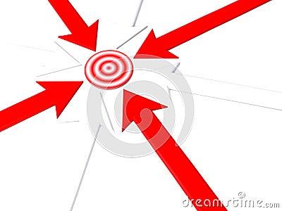Pointer to target