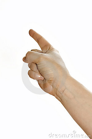 Free Pointing Finger Stock Photo - 4962310