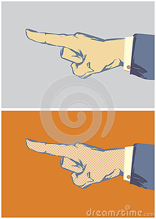 Pointing Finger Vector