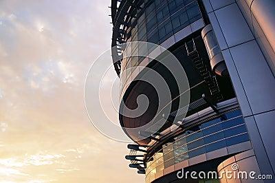 Pointy Futuristic Building