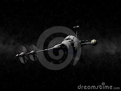 Pointy Spaceship Stock Photography - Image: 4774442