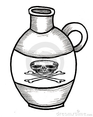 Poison Bottle jug