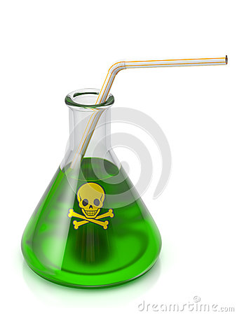 Free Poison Drink Royalty Free Stock Image - 42817536