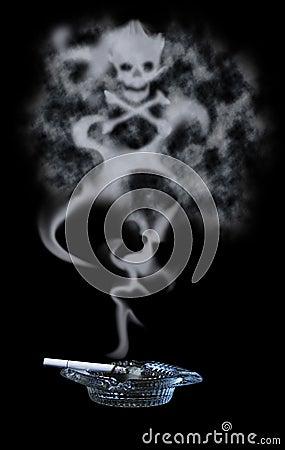 Poisonous Cigarette Smoke