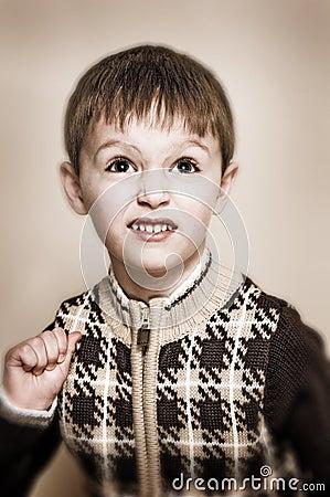 Pojke med tröjan