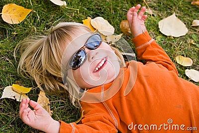 Pojkesolglasögonslitage