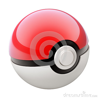 Free Pokemon Ball Royalty Free Stock Photo - 74683385