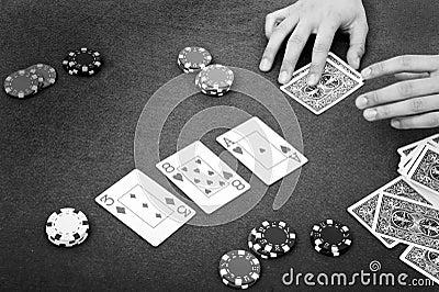Poker atmosphere