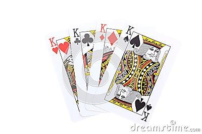 Poker cards Kings