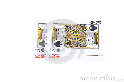 Poker cards Kings