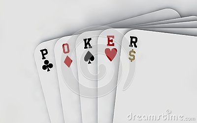 Poker Cards (neutral background)