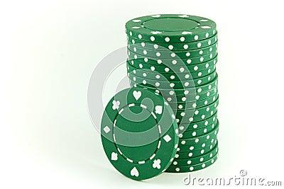 Poker Chips - Green