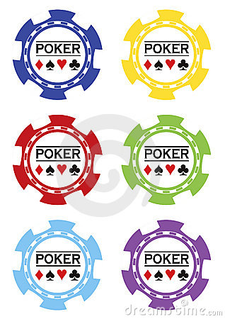 Poker chips vektor