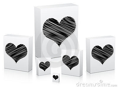 Poker Element -heart Stock Photography - Image: 12950252