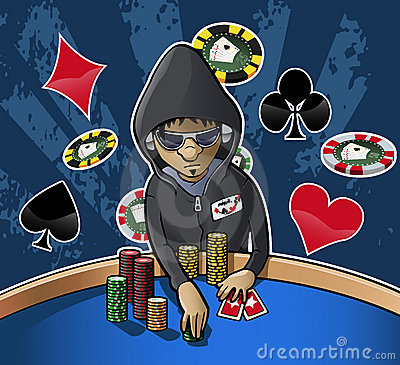 Free Poker Face Stock Photography - 20070782