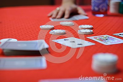 Poker game is begining
