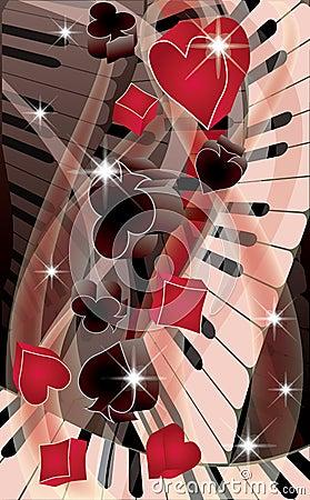 Poker melody banner